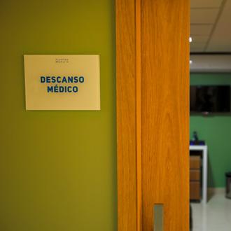 Sala de Descanso Médico 1